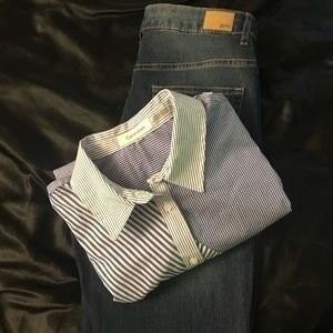 Calvin Klein button up shirt and jeans R 1892 s 10